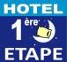 Logo de Hôtel 1ère étape