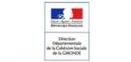 Logo de DDCC Gironde