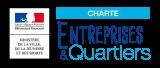 Logo de Charte Entreprises et Quartiers